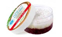 Кокосовый соляной скраб ,КРАСНОЕ ВИНО,Крым.Ман