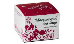Маска-скраб для лица ,Чайная роза